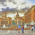 The Plaza De La Virgen by Digital Photographic Arts