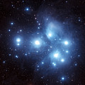 The Pleiades Star Cluster by Charles Shahar