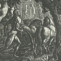The Ploughman Christian Ploughing The Last Furrow Of Life by Edward Calvert