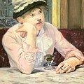 The Plum by Edouard Manet