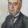 The Poet Demetrius Vikelas by George Siaba
