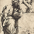 The Poet by Jusepe De Ribera