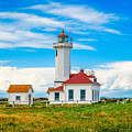 The Point Wilson Lighthouse by Dan Sproul