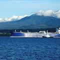 The Polar Resolution Oil Tanker Port Angeles Harbor Wa by Delores Malcomson