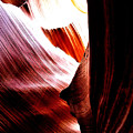 The Polished Rocks Of Lower Antelope Canyon by Gio