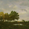 The Pond, La Mare by Theodore Rousseau