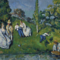 The Pond by Cezanne