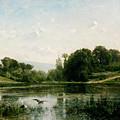 The Ponds Of Gylieu by Charles-Francois Daubigny