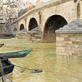 The Pont Marie. Paris by Frits Thaulow