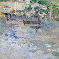 The Port At Nice by Berthe Morisot