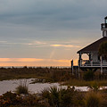 The Port Boca Grande Lighthouse by Ed Gleichman