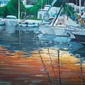 The Port by Saeeda Kh