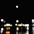 The Port, The Lights, And The Moon by Ingrid Van Amsterdam