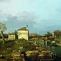 The Porta Portello, Padua by Canaletto