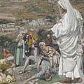 The Possessed Boy At The Foot Of Mount Tabor by Tissot