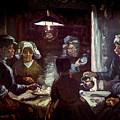 The Potato Eaters, By Vincent Van Gogh, 1885, Kroller-muller Mus by Peter Barritt
