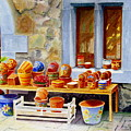 The Pottery Shop by Karen Fleschler