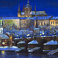 The Prague Panorama by Yuriy Shevchuk