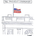 The President Compromises by Peter Kuper