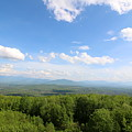 The Presidential Range From The Watchtower At Weeks State Park by Neal Eslinger