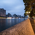 The Promenade Along The Pearl River In The Heart Of Guangzhou by Didier Marti