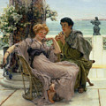 The Proposal by Sir Lawrence Alma Tadema