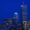 The Pru Lit Up In Red White And Blue For The Fourth Of July by Toby McGuire