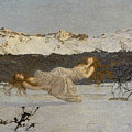 The Punishment Of Lust  by Giovanni Segantini