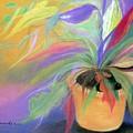The Purple Bird by Maritza Bermudez