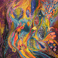 The Purple Rain by Elena Kotliarker
