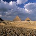The Pyramids At Giza by Sami Sarkis