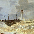 The Quay At Le Havre by Claude Monet