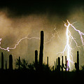The Quiet Southwest Desert Lightning Storm by James BO Insogna