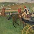 The Race Course by Edgar Degas