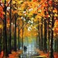 The Rain Is Gone by Leonid Afremov