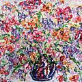 The Rainbow Flowers by Leonard Holland