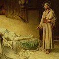 The Raising Of Jairus's Daughter by George Percy Jacomb-Hood