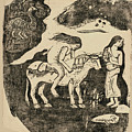 The Rape Of Europa by Paul Gauguin