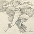 The Rape Of Ganymede by Jean-Honore Fragonard