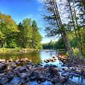The Raquette River by David Patterson