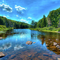 The Raquette River Headwaters by David Patterson