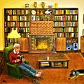The Reading Room by Olga Silverman