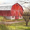 The Red Barn by Cheryl Bannister