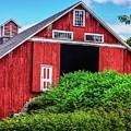 The Red Barn by Gayne Dorio