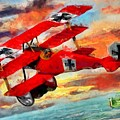 The Red Baron by Caito Junqueira