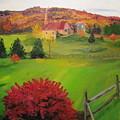 The Red Bush by Gloria Condon