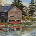 The Red Canoe by Richard De Wolfe