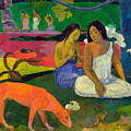 The Red Dog by Paul Gauguin