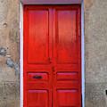 The Red Door. by Don Pedro DE GRACIA