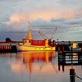 The Red Fishing Boat by Karen McKenzie McAdoo